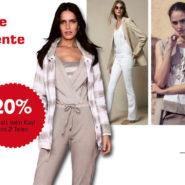 Ab sofort ermässigte Preise auf die textile Frühjahr-/Sommerkollektion