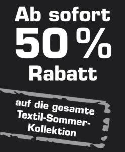 50% Sommerkollektion