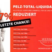 Pelz Total – Liquidation