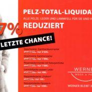 Pelz Total – Liquidation